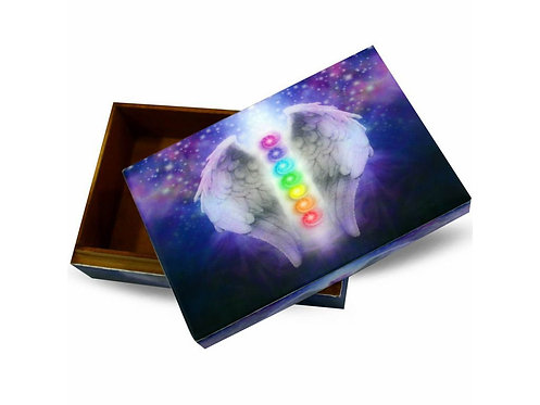Magická krabička - čakrový anděl