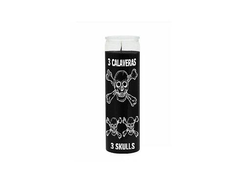 Magická svíce - (3 skulls)