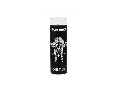 Magická svíce - (Shut up) - Černá