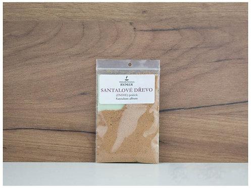 Santalové dřevo - prášek