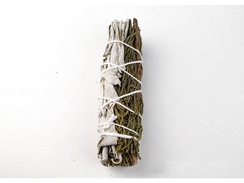 Vykuřovací svazek - Cedar + Bílá šalvěj