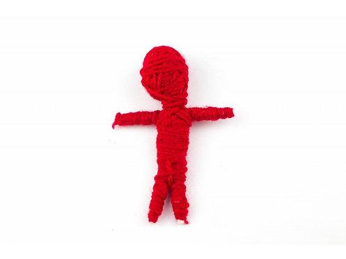 Voodoo panenka - Červená