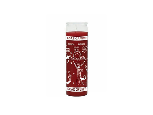 Magická svíce - (Road opener) - Červená