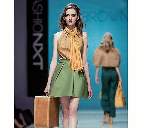 This was my #favorite #runway #makeup of