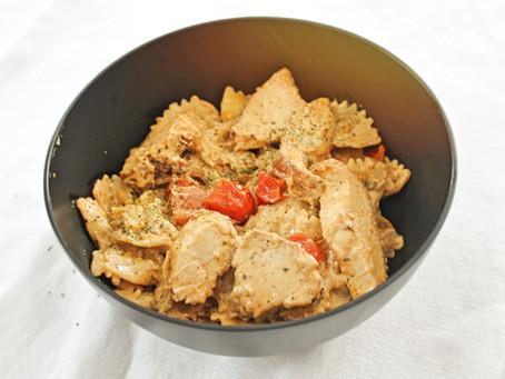 Easy Cajun Chicken Pasta