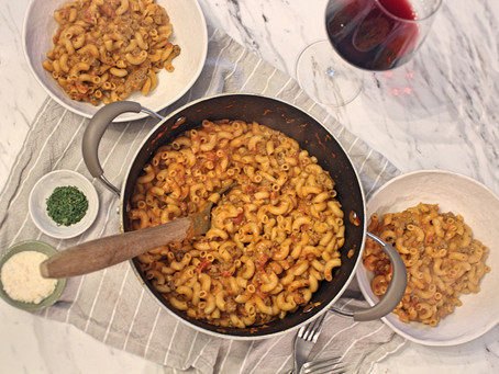 Not Your Old School Goulash