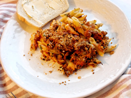 The Best Baked Penne