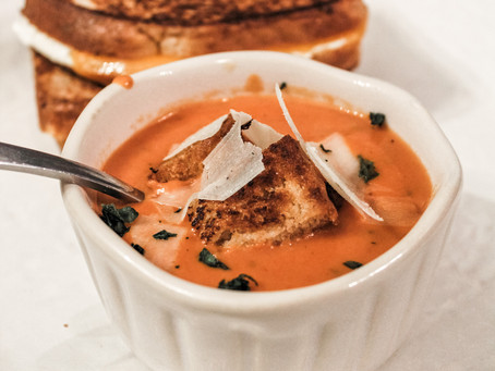 The Easiest, Delicious Tomato Basil Soup