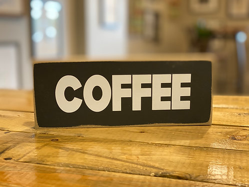 hollee.co Coffee Sign