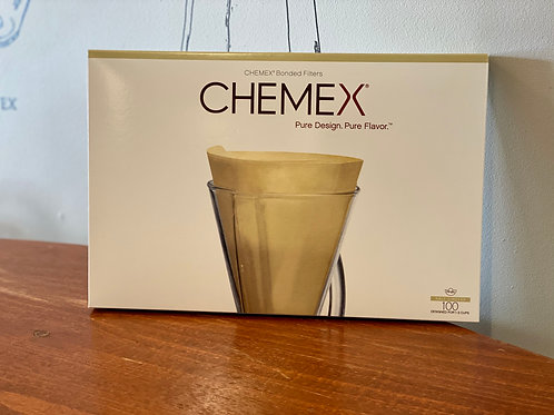 Chemex Unbleached Paper Filters 1-3 Cup