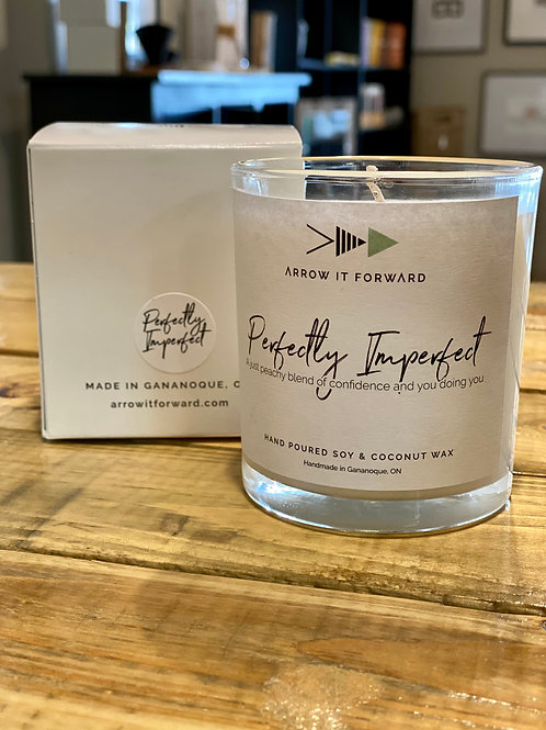 Arrow It Forward Perfectly Imperfect 8 oz Soy Candle