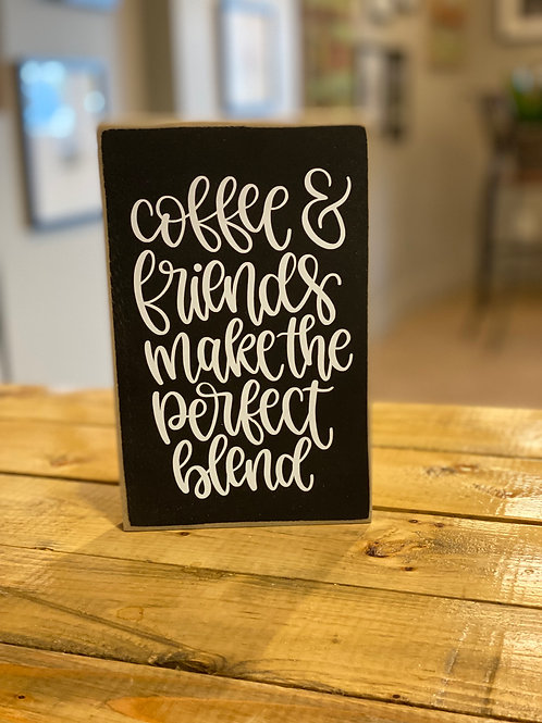 hollee.co Coffee & Friends... Sign