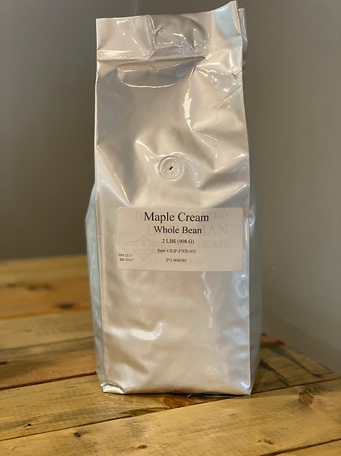 Reunion Coffee Roasters Maple Cream Flavoured Beans
