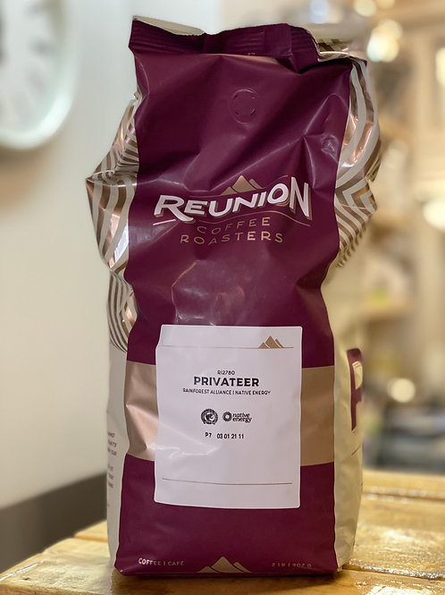 Reunion Coffee Roasters Privateer 2lb