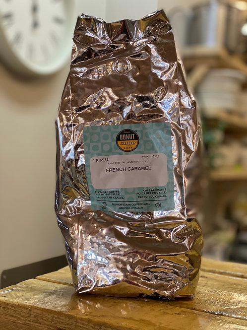 French Caramel Flavoured Coffee 2lb