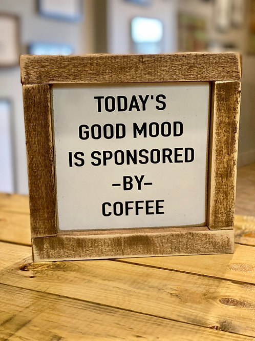 hollee.co Today's Good Mood... Sign