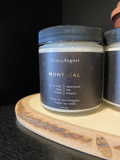 Mimi & August Montreal Soy Candle 4 oz