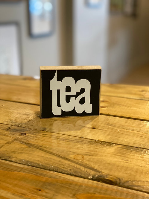 hollee.co Tea Sign