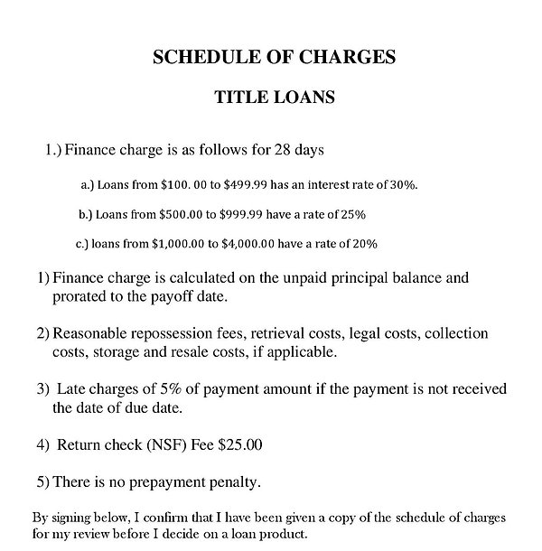 SCHEDULEOFCHARGES-titleloans2017 (1)-con