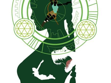 Le P'tit Dernier - projet perso : illustration Tomb Raider
