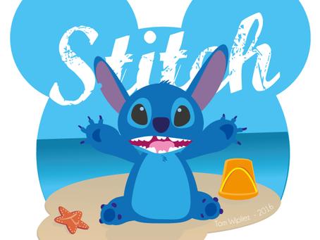 Le P'tit dernier - Projet Perso - Disney Stitch
