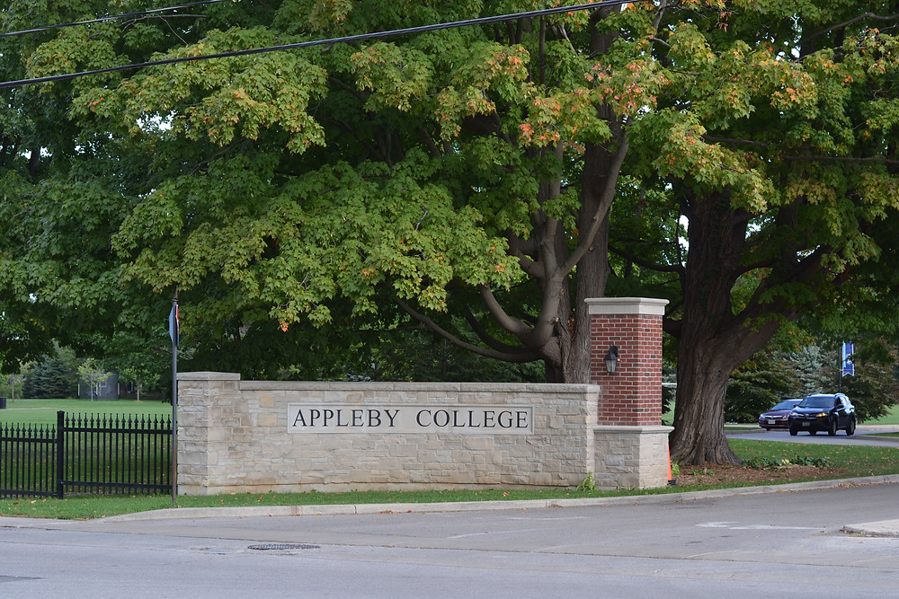 Appleby College in Oakville the private school