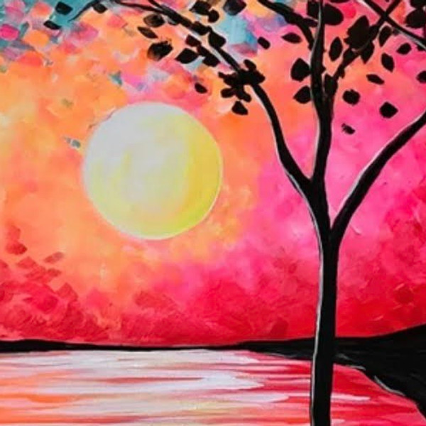 """""""YouTime"""" Friday Night Paint Nite - September Sun"""