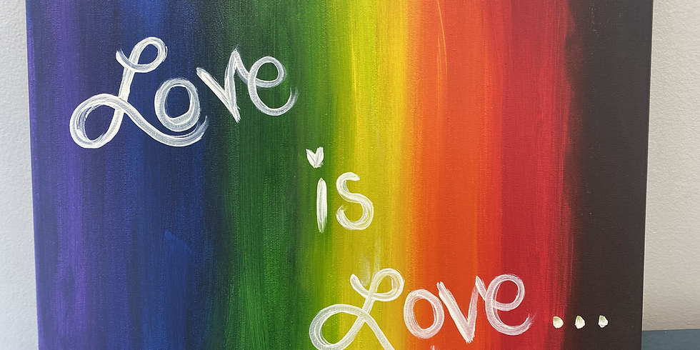 """""""YouTime"""" Paint Night: PRIDE-themed"""