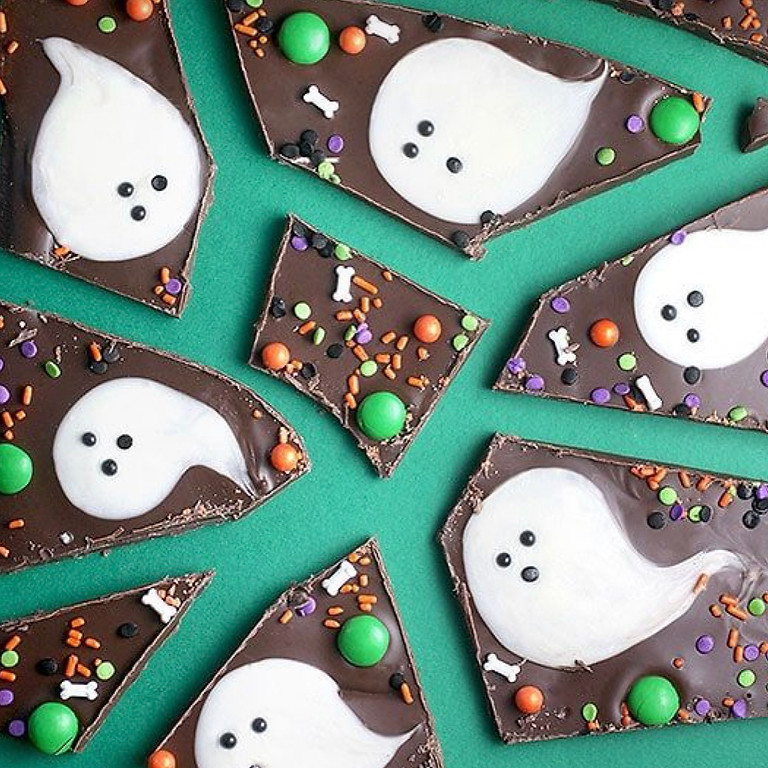 """""""YouTime"""" Friday Night Craft Nite - Boo Bark Candy"""