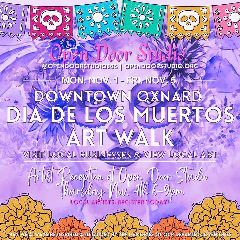 Dia De Los Muertos Artist Reception