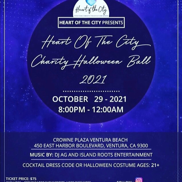 Heart of the City's Halloween Ball at Crown Plaza, Ventura Pier