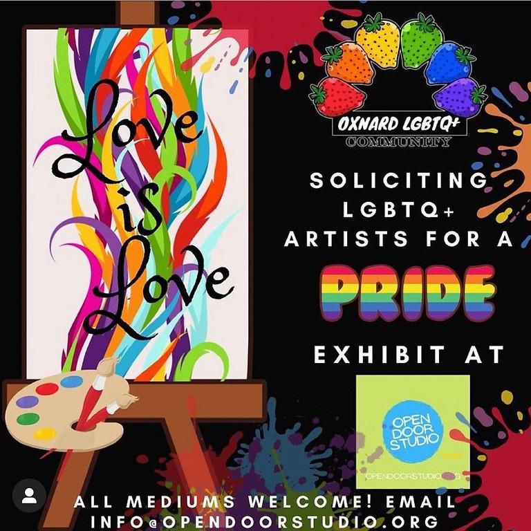 PRIDE Artist Reception & Open Gallery