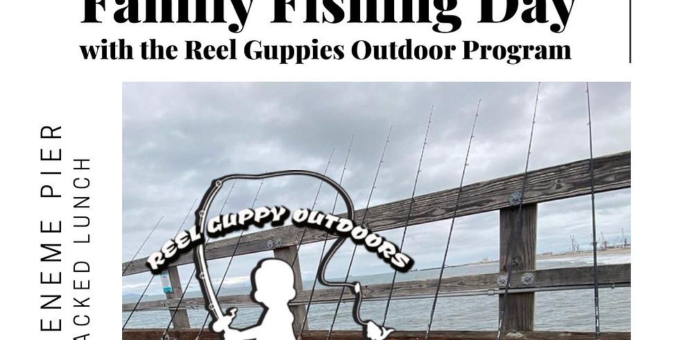 Reel Guppies Fishing Day with Open Door Resident Artists