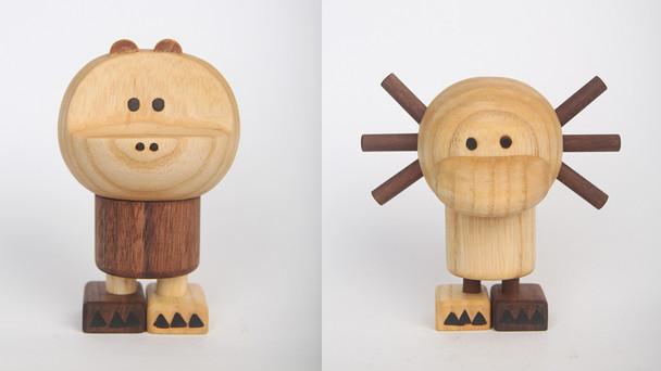 Bigfoot's Wood Toy 시제품 제작완료