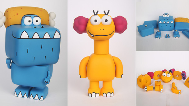 Bigfoot's Character Toy 시제품 제작완료