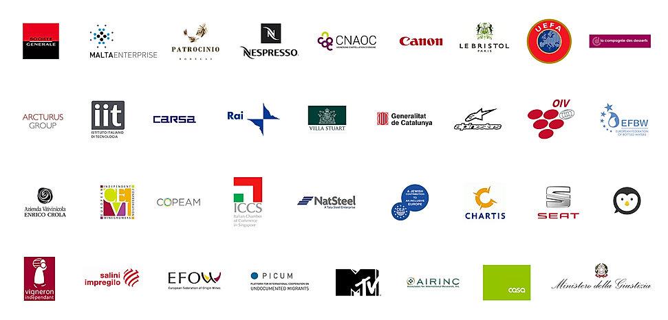 Logos de quelques-uns des clients de Traducendo Ltd