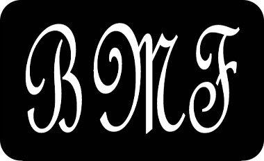 Monogrammed Initials