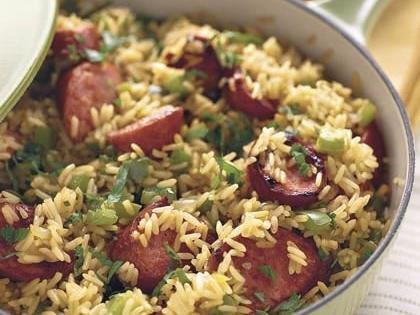 One Dish - Geddy's Sausage 'n' Rice