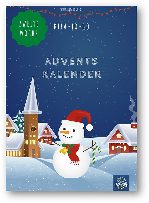 Wochenplan: Zweite Woche des Adventskalenders