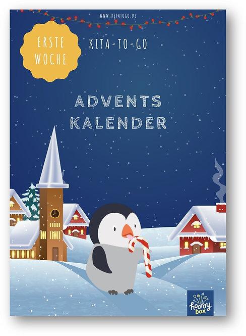 Wochenplan: Erste Woche des Adventskalenders