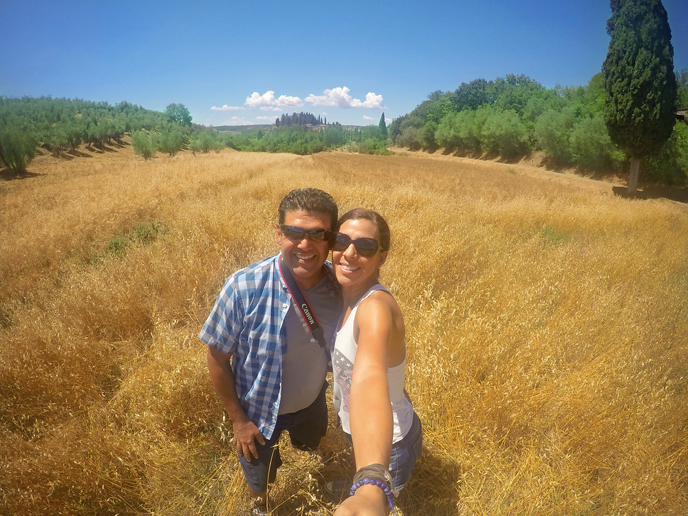 Wonderful trip in Tuscany, Italy