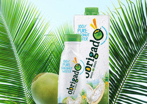 Obrigado - 100% Pure Coconut Water