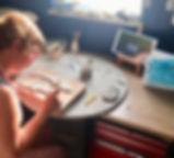 Pottery Workshop Raku Firing Dorset Beli