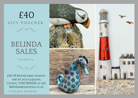 Gift voucher : choose from £30-£80