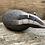 Thumbnail: Raku Fired Badger Sculpture - Handmade
