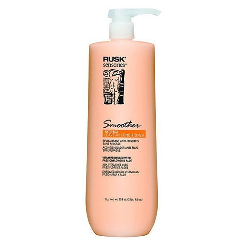 RUSK SMOOTHER ANTIFRIZZ LEAVE-IN 1 LITRO