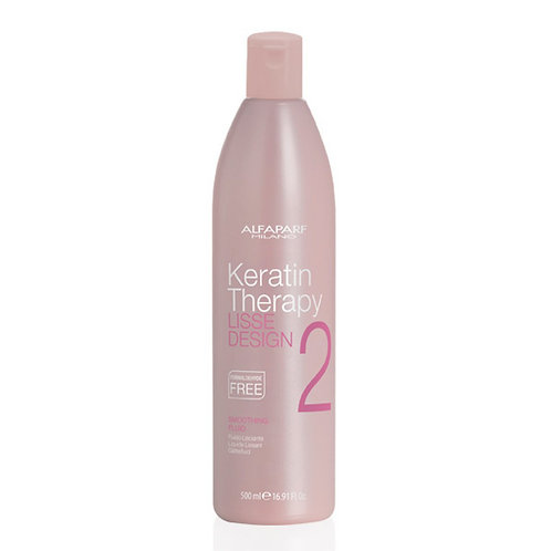 ALFAPARF KERATIN THERAPY SMOOTHING FLUID 500 ML PASO 2