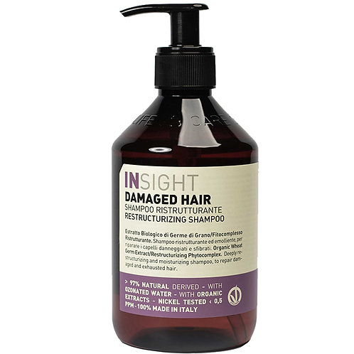 INSIGHT DAMAGED SHAMPOO HAIR 400ML