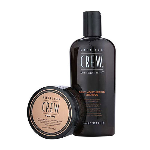 AMERICAN CREW KIT DAILY MOISTURING SH / POMADE