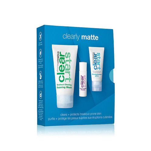 DERMALOGICA CLEARLY MATTE KIT CLEAR START*